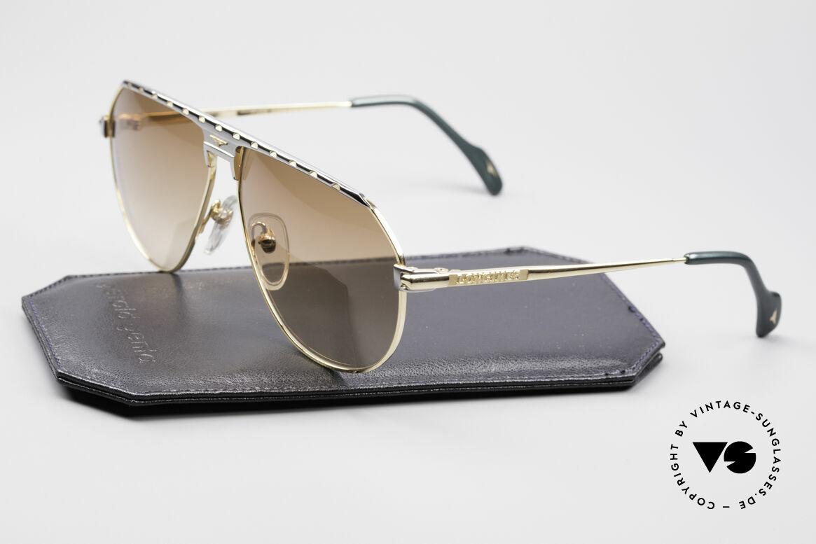 Longines 0151 Large Titanium Sonnenbrille, ungetragen (wie alle unsere vintage Longines Brillen), Passend für Herren