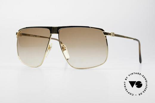 Gucci GG40 22Kt Vergoldete Sonnenbrille Details