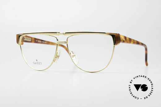 Gucci 2320 Designer Luxusbrille 80er Details