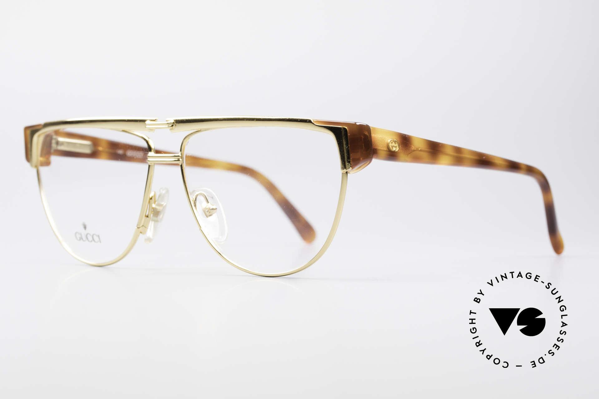 Gucci 2320 Designer Luxusbrille 80er, eine echte italienische Rarität in Premium-Qualität, Passend für Herren und Damen