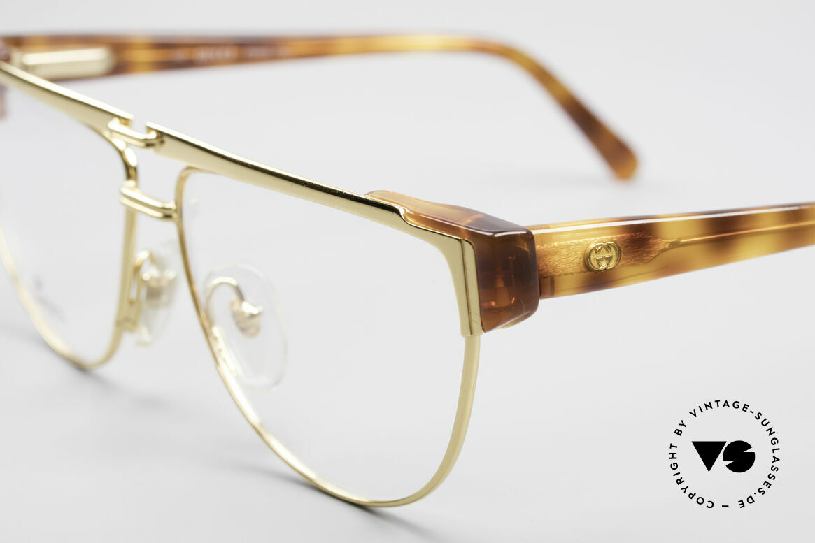 Gucci 2320 Designer Luxusbrille 80er, ungetragen (wie alle unsere alten Gucci Fassugnen), Passend für Herren und Damen