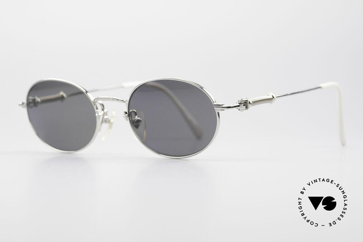 Jean Paul Gaultier 55-6101 Ovale Brille Polarisierend, polarisierende Sonnengläser (für 100% UV Schutz), Passend für Herren und Damen