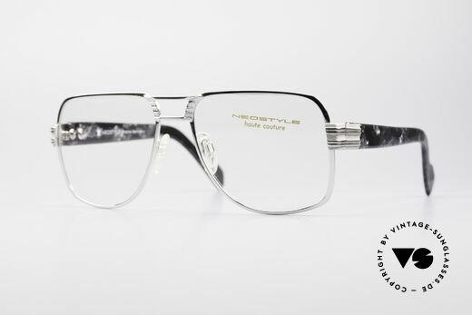 Neostyle Boutique 670 Vintage 80er XL Herrenbrille Details