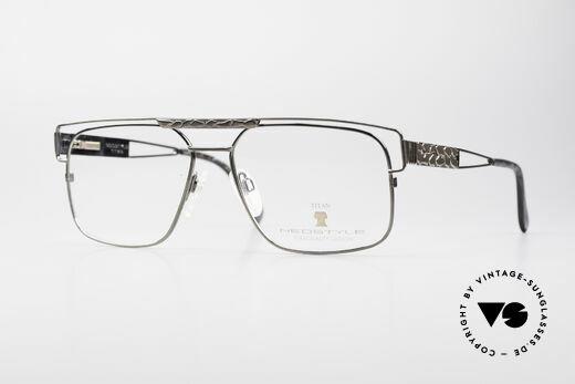Neostyle Dynasty 430 Vintage 80er Titanbrille Herren Details
