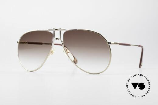 Aigner EA4 Echte 80er Luxus Sonnenbrille Details