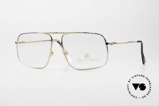 Aigner EA23 Echte 80er Luxus Brillenfassung Details