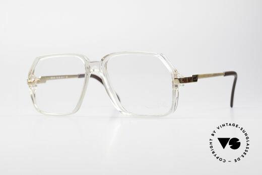 Cazal 625 80er Vintage NO Retrobrille Details