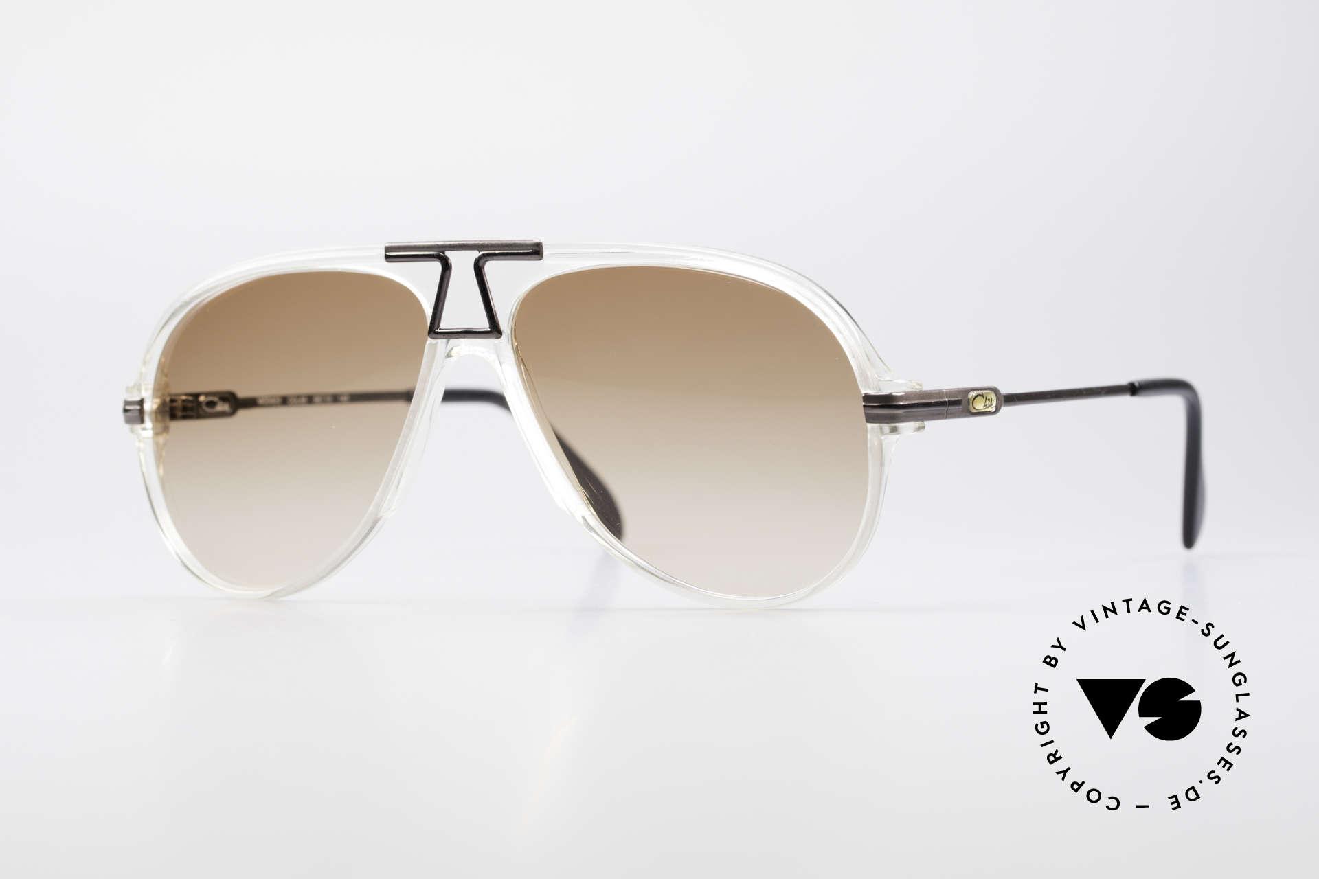 Cazal 622 Vintage Piloten Sonnenbrille, legendäre Pilotenform interpretiert von CAri ZALloni, Passend für Herren