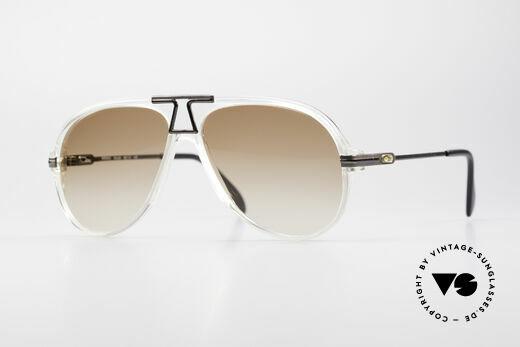 Cazal 622 Vintage Piloten Sonnenbrille Details