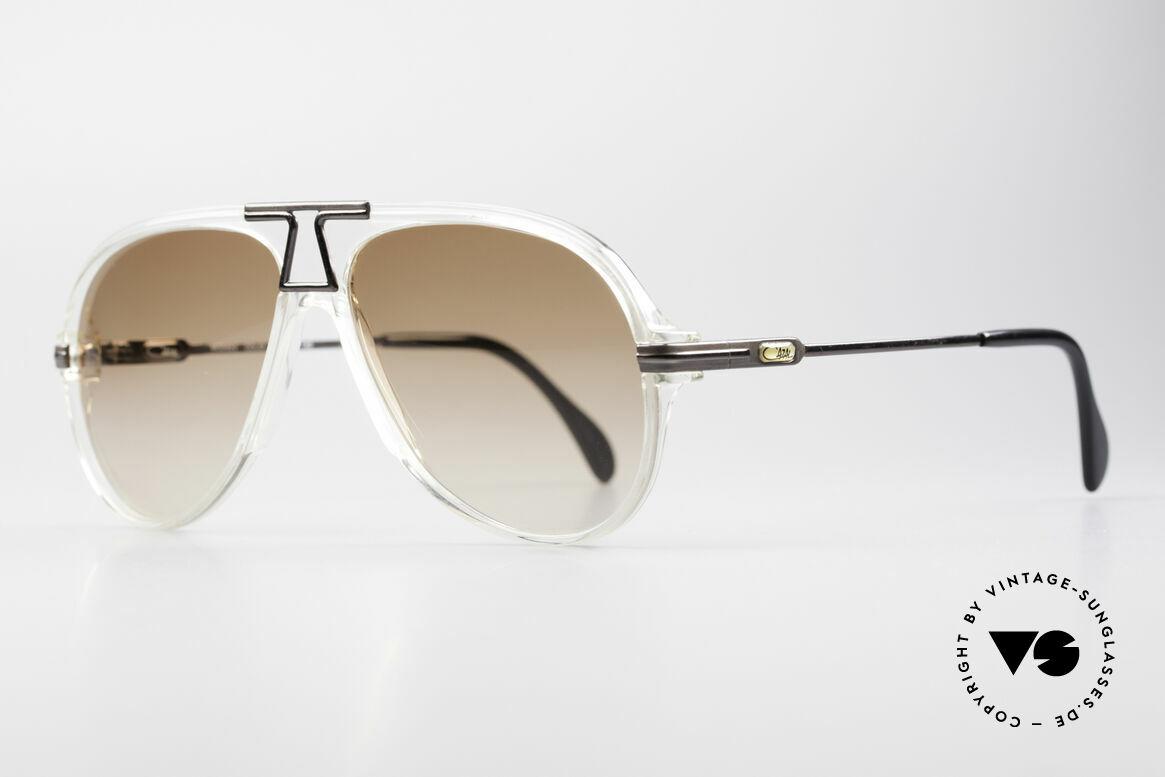 Cazal 622 Vintage Piloten Sonnenbrille, typische Farbgestaltung für die damalige Zeit; vintage, Passend für Herren