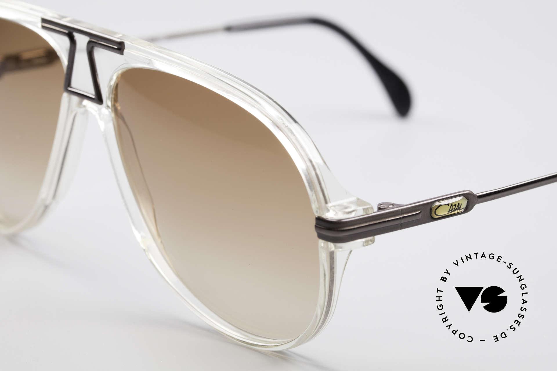 Cazal 622 Vintage Piloten Sonnenbrille, ungetragen, NOS (wie alle unsere alten Cazal Unikate), Passend für Herren