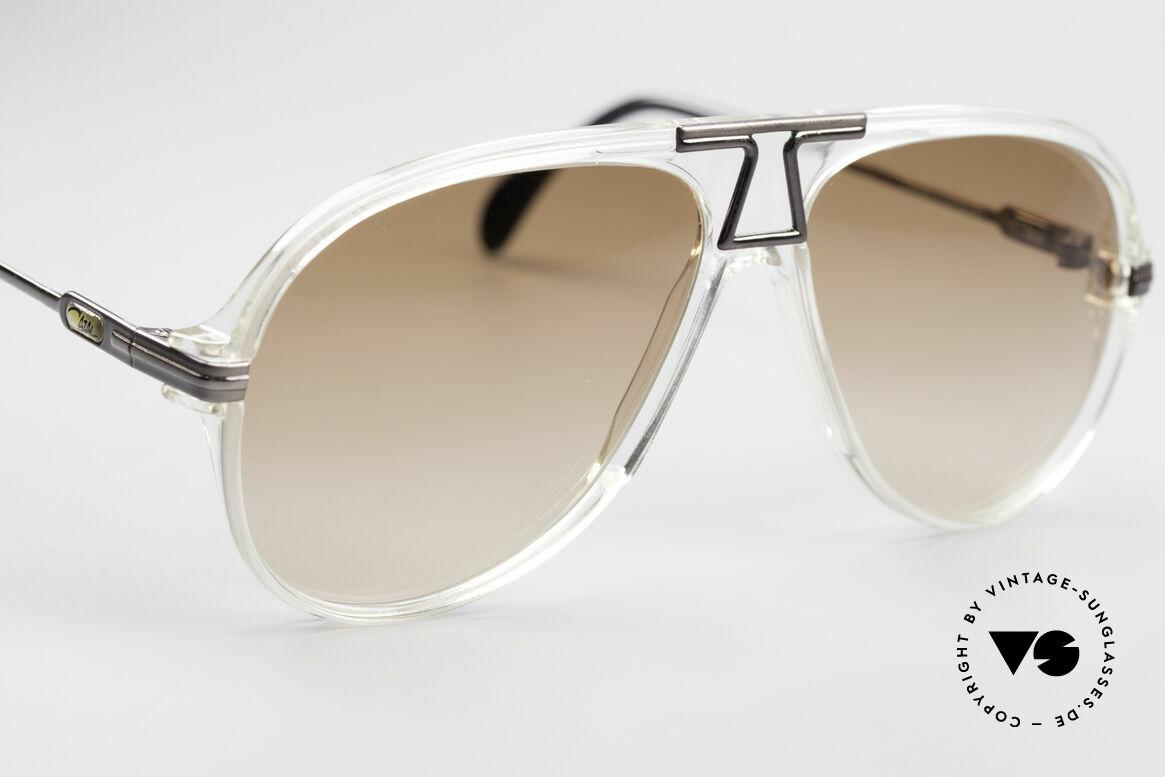 Cazal 622 Vintage Piloten Sonnenbrille, KEINE Retrosonnenbrille; ein 30 Jahre altes ORIGINAL, Passend für Herren