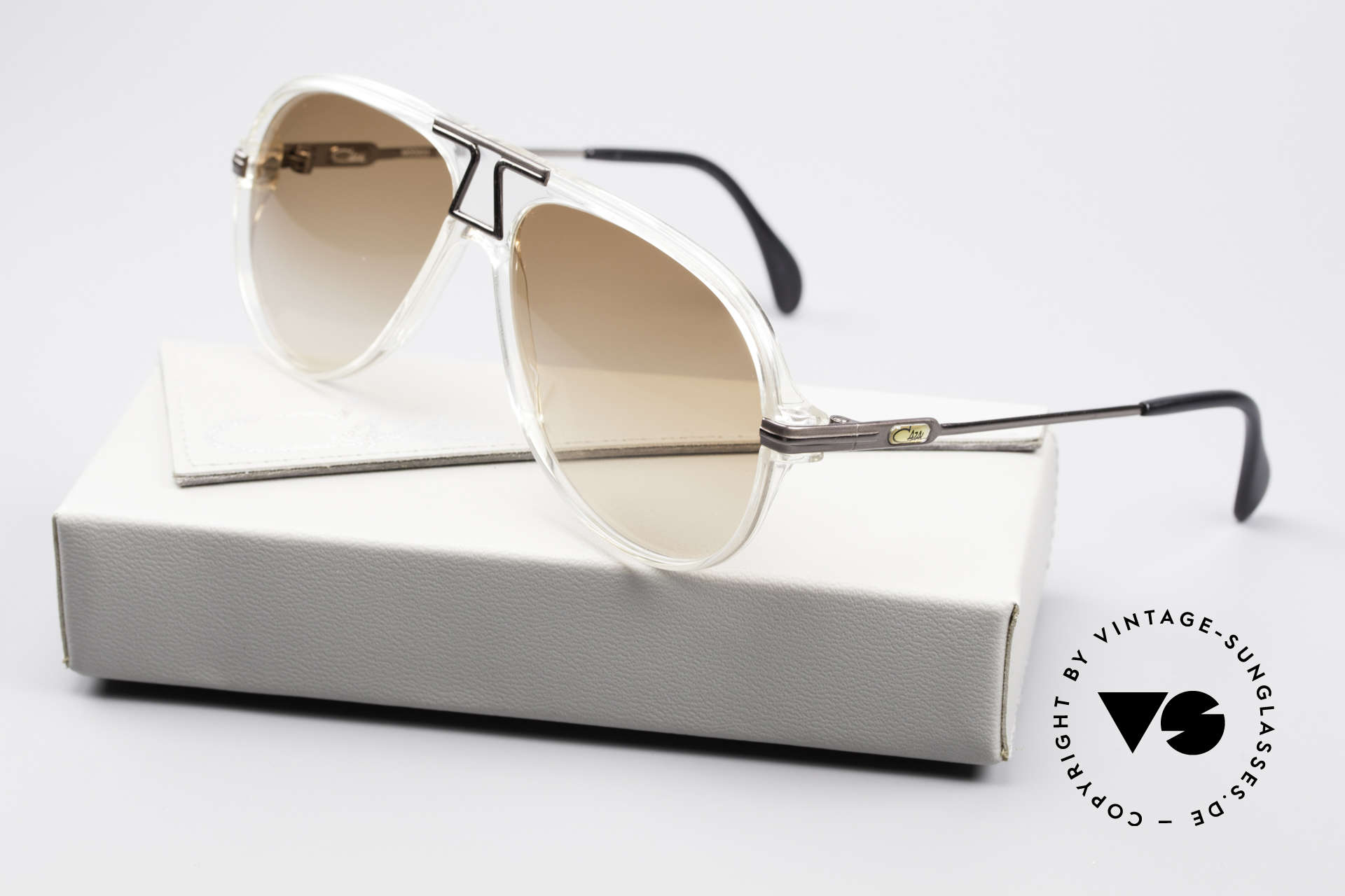 Cazal 622 Vintage Piloten Sonnenbrille, Größe: medium, Passend für Herren