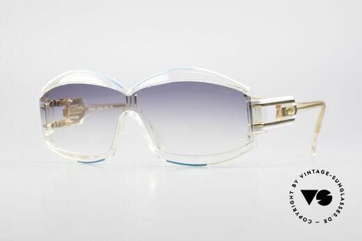 Cazal 857 Echt 80er HipHop Sonnenbrille Details