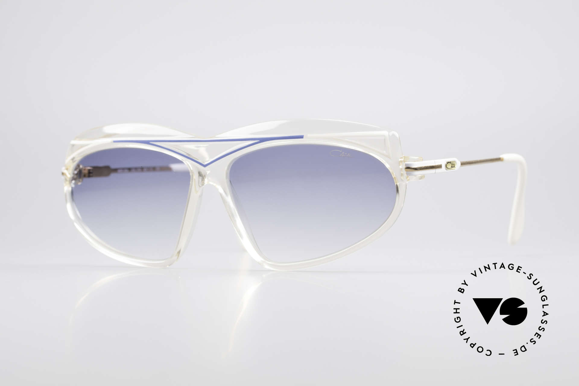 Cazal 854 80er Jahre Hip Hop XL Brille, echte alte 80er Jahre vintage West Germany Cazal, Passend für Damen