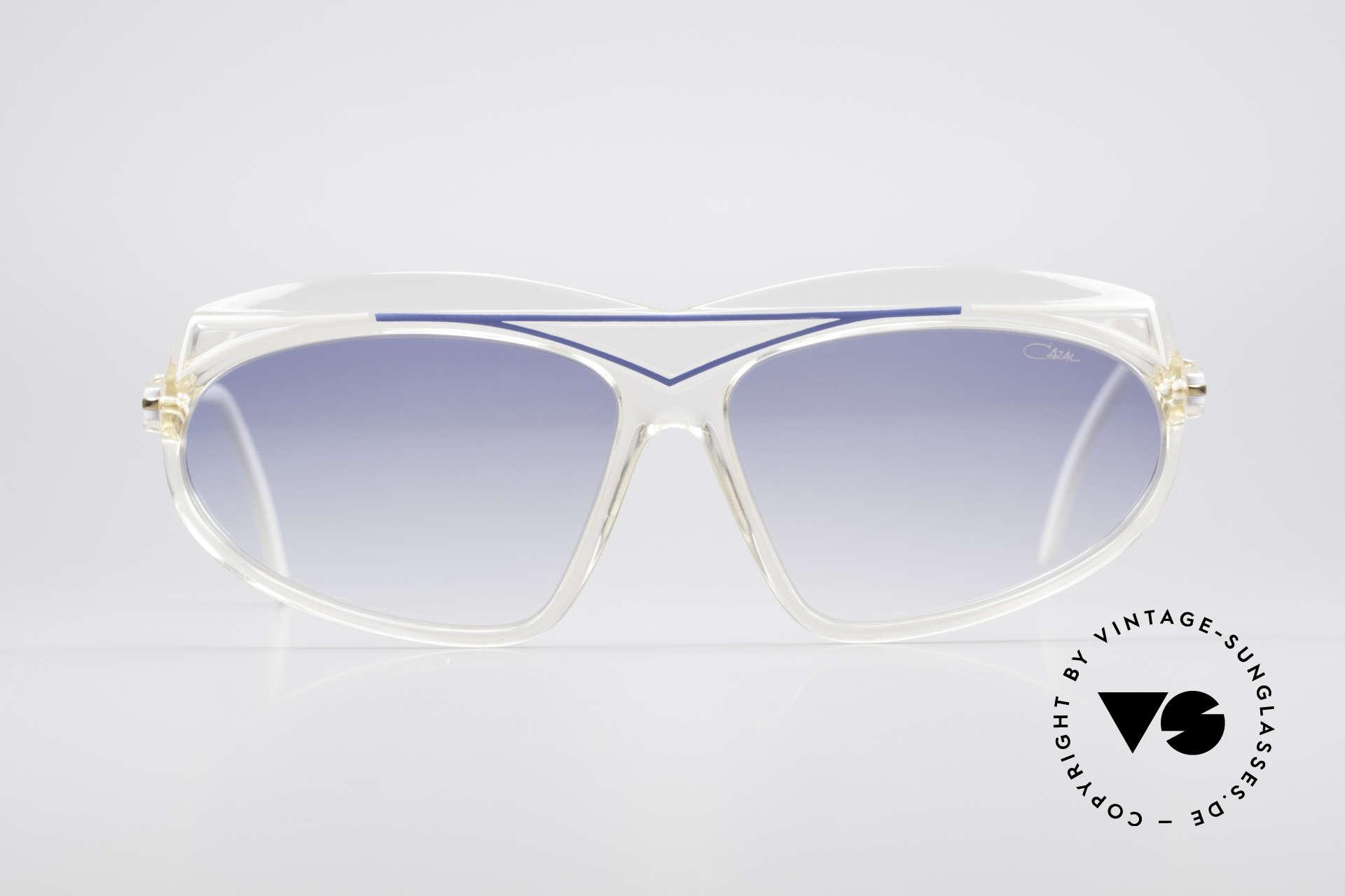Cazal 854 80er Jahre Hip Hop XL Brille, damals fester Bestandteil der US HIO-HOP Szene, Passend für Damen