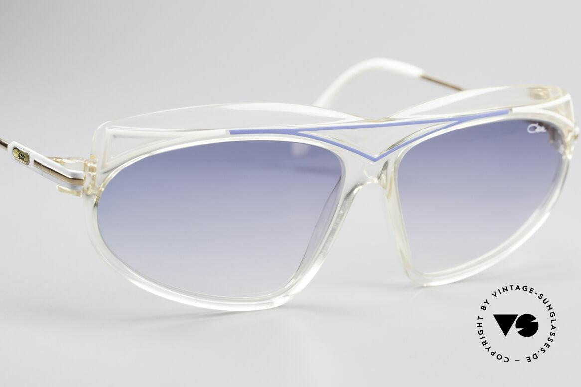 Cazal 854 80er Jahre Hip Hop XL Brille, ungetragen & mit orig. CAZAL Etui (Sammlerstück), Passend für Damen