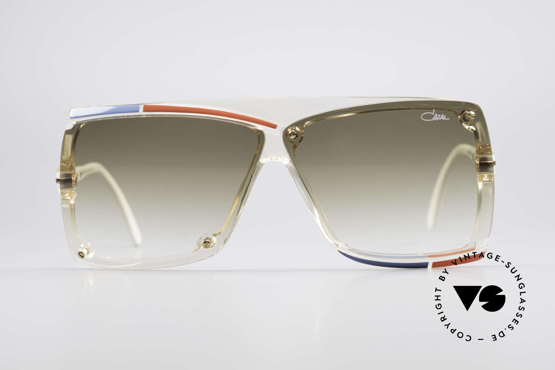 Cazal 859 West Germany Cazal Brille, Designersonnenbrille von ca. 1986 (W.GERMANY), Passend für Herren und Damen