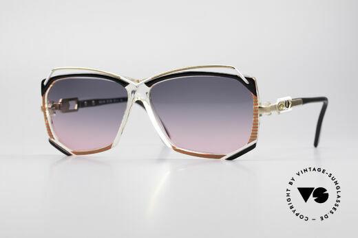 Cazal 188 Vintage Sonnenbrille Damen Details
