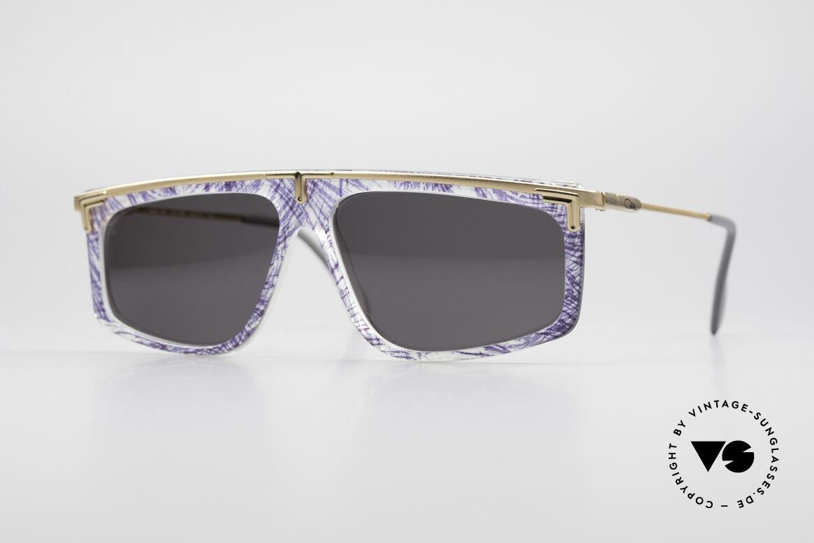 Cazal 190 Old School Hip Hop Brille, legendäre Cazal vintage Brille aus den späten 80ern, Passend für Herren und Damen