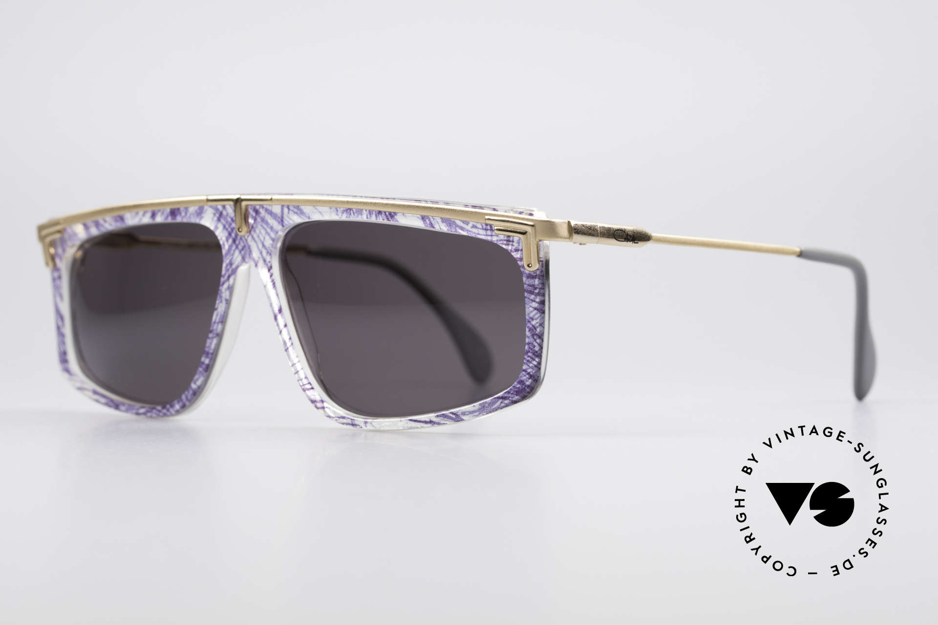 Cazal 190 Old School Hip Hop Brille, altes WEST GERMANY Original & KEINE Retrobrille!, Passend für Herren und Damen