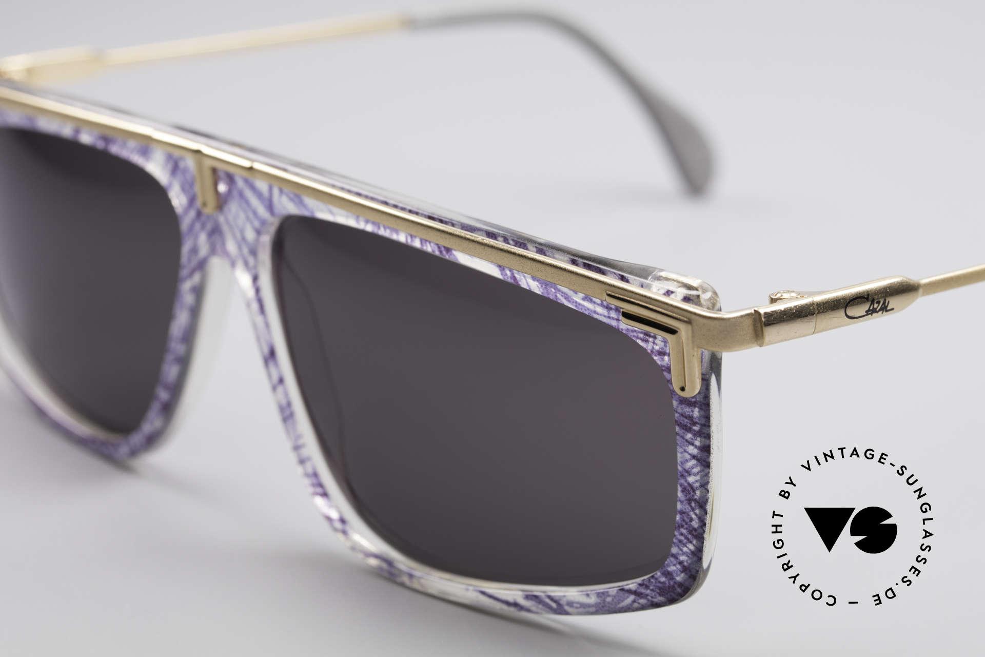 Cazal 190 Old School Hip Hop Brille, ungetragen (wie alle unsere seltenen vintage Cazals), Passend für Herren und Damen