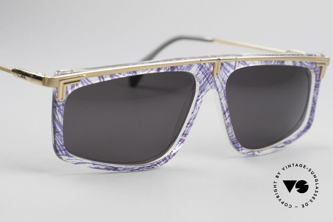 Cazal 190 Old School Hip Hop Brille, heute als HipHop Brille / Old School Brille bezeichnet, Passend für Herren und Damen