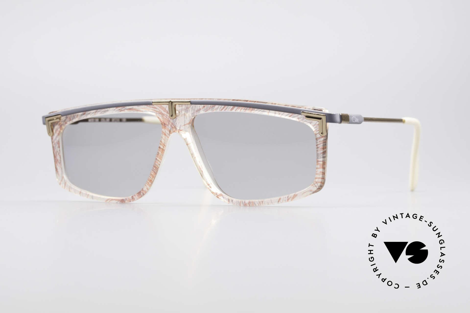 Cazal 190 80er Hip Hop Sonnenbrille, legendäre Cazal vintage Brille aus den späten 80ern, Passend für Herren und Damen