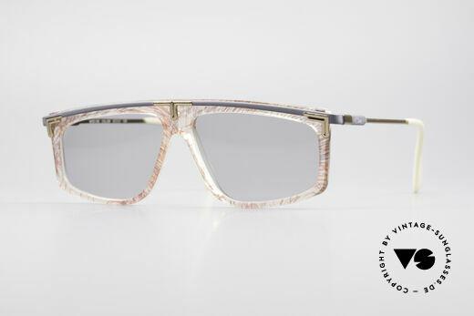 Cazal 190 80er Hip Hop Sonnenbrille Details