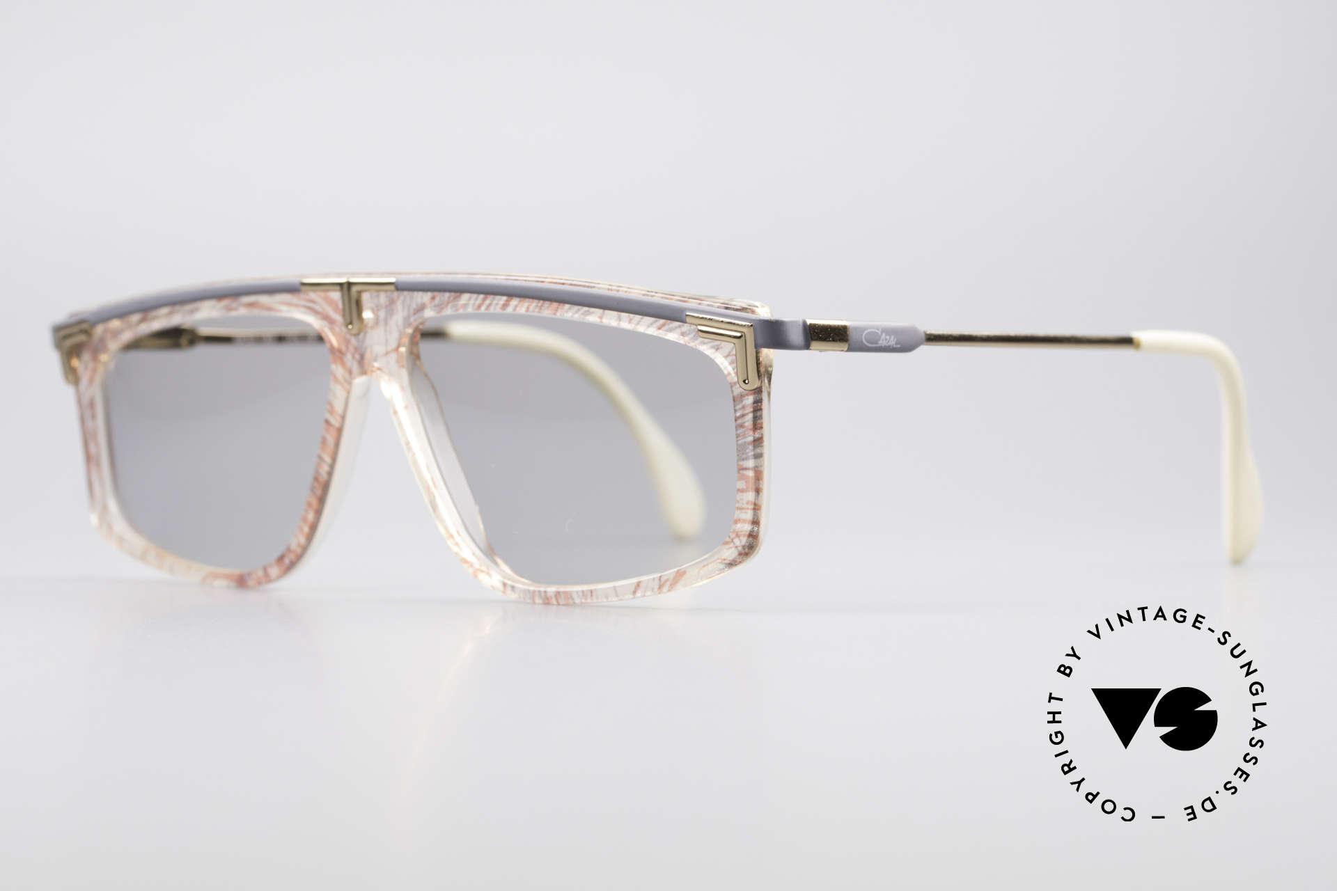 Cazal 190 80er Hip Hop Sonnenbrille, altes WEST GERMANY Original & KEINE Retrobrille!, Passend für Herren und Damen