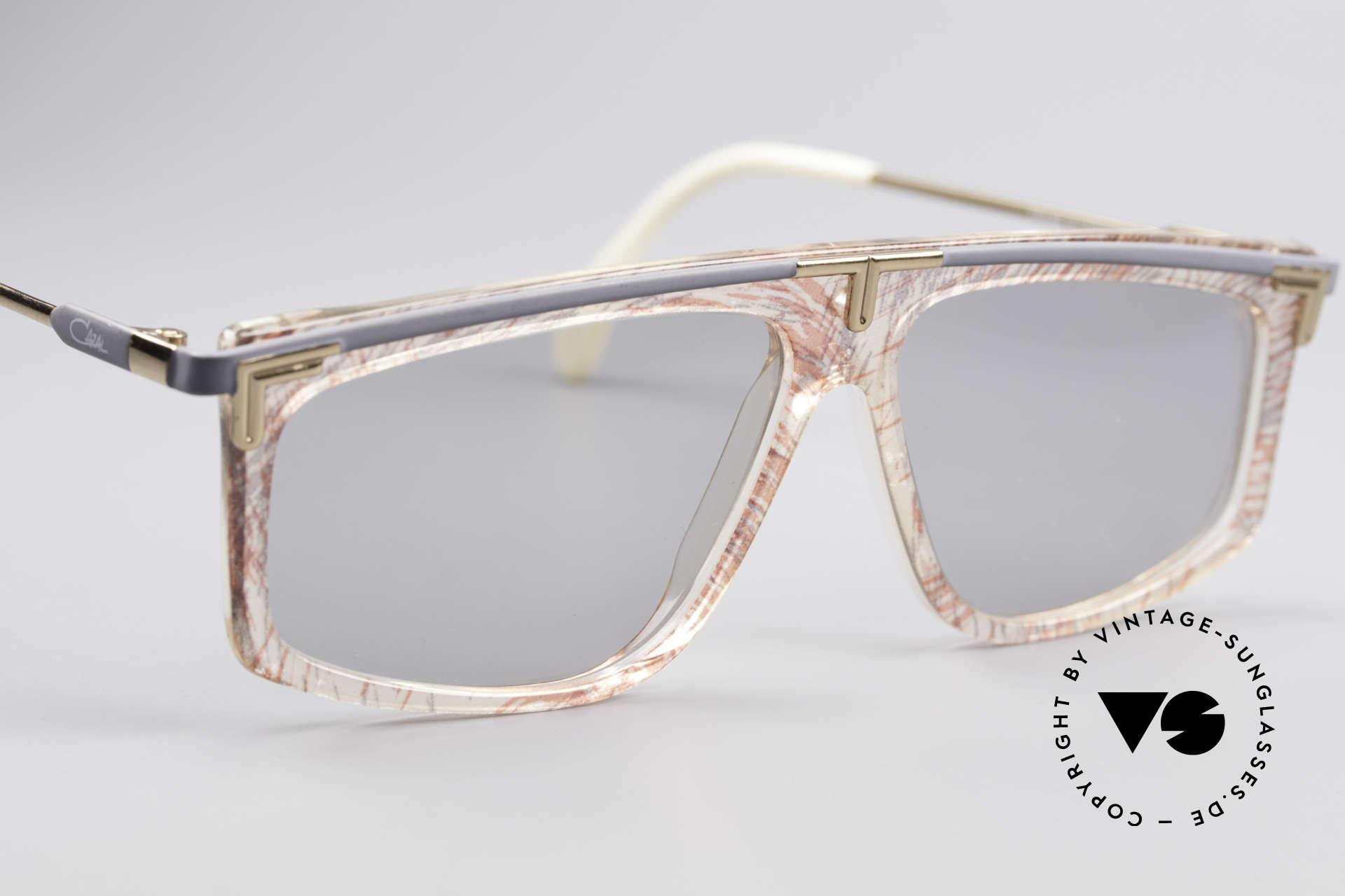 Cazal 190 80er Hip Hop Sonnenbrille, heute als HipHop Brille / Old School Brille bezeichnet, Passend für Herren und Damen