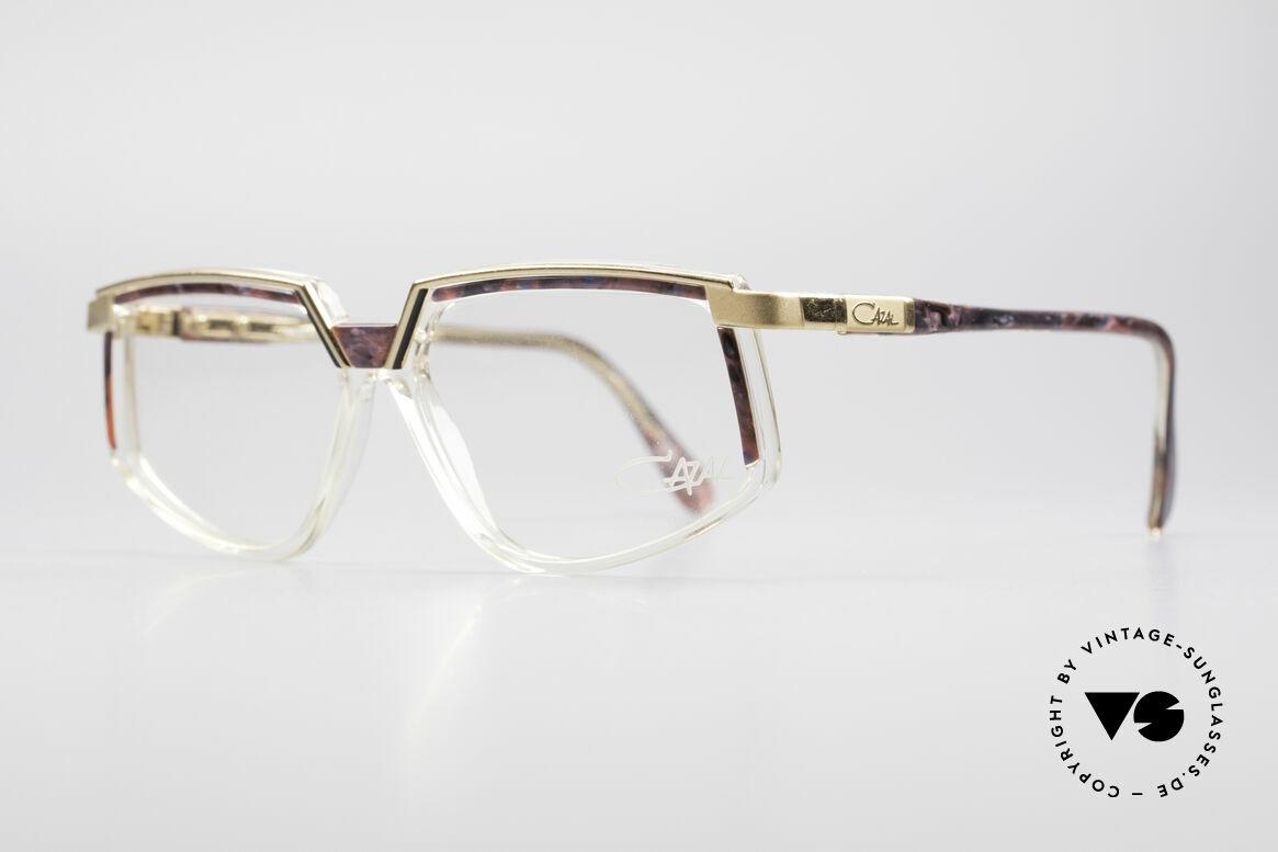 Cazal 337 Vintage Cazal No Retro Brille, tolle Metall- Kunststoffkombination und Farbgebung, Passend für Damen