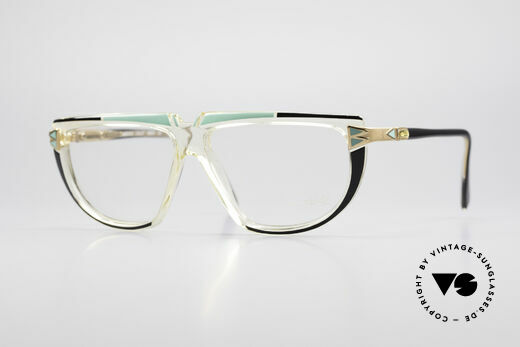 Cazal 316 Echt 80er Old School Brille Details