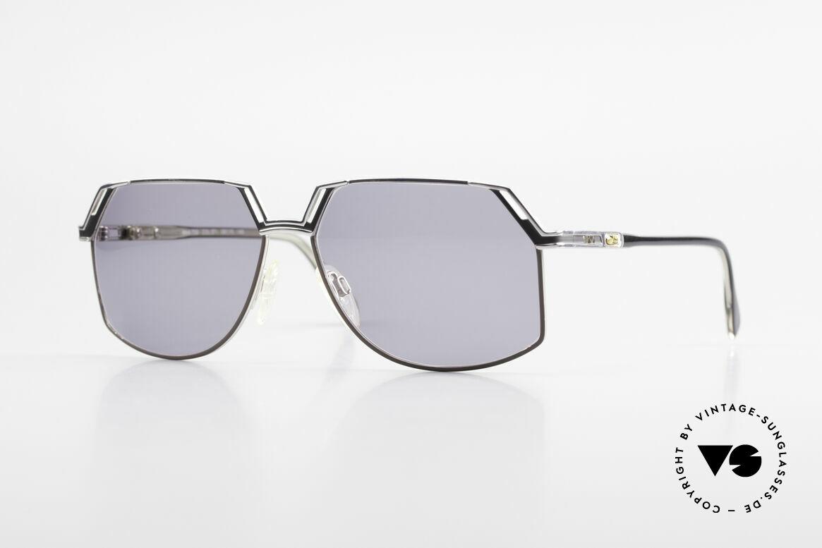 Cazal 738 True Vintage Sonnenbrille, schöne markante CAZAL vintage Brille der 1980er/90er, Passend für Herren