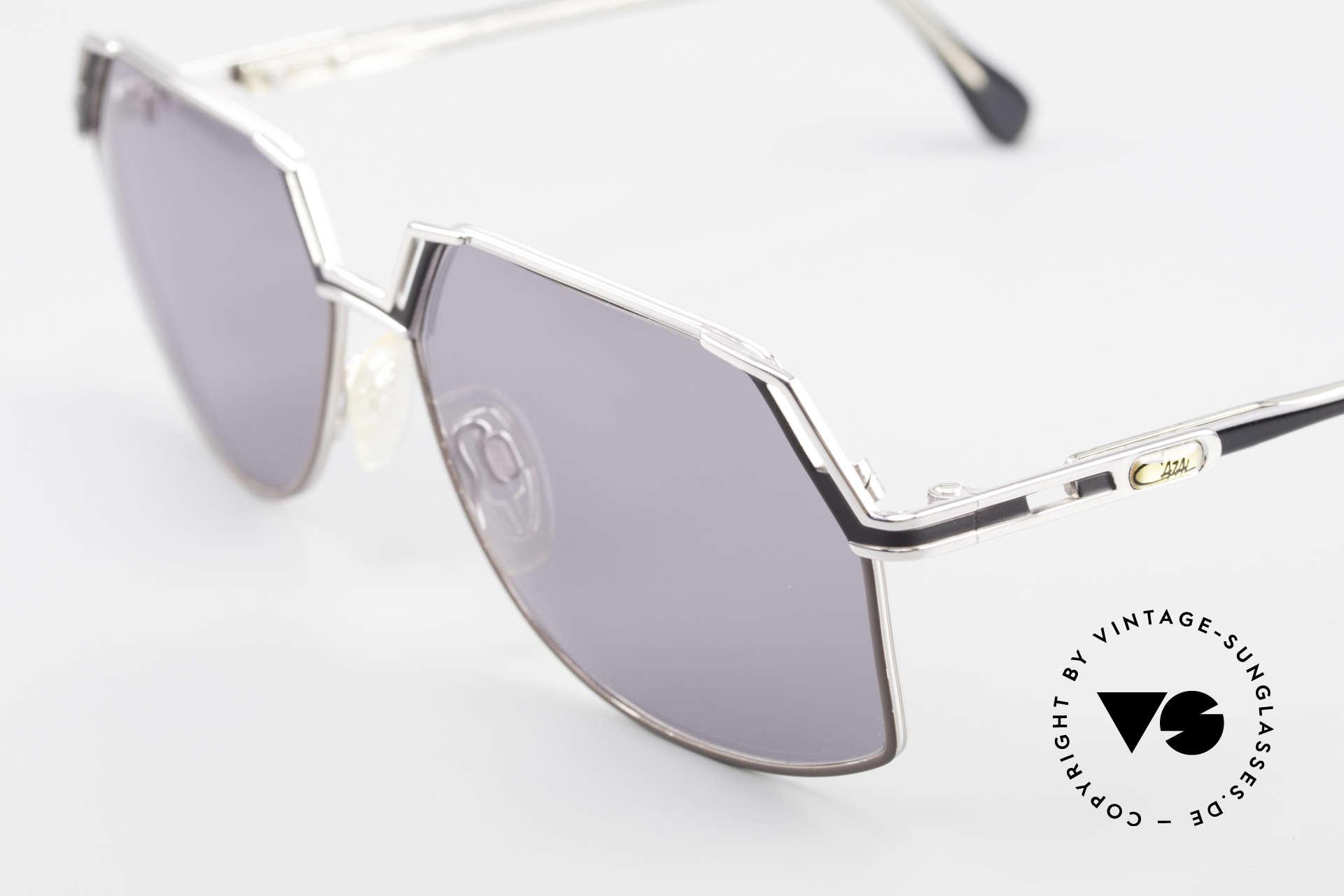 Cazal 738 True Vintage Sonnenbrille, ungetragen (wie alle unsere alten Cazal HipHop Brillen), Passend für Herren