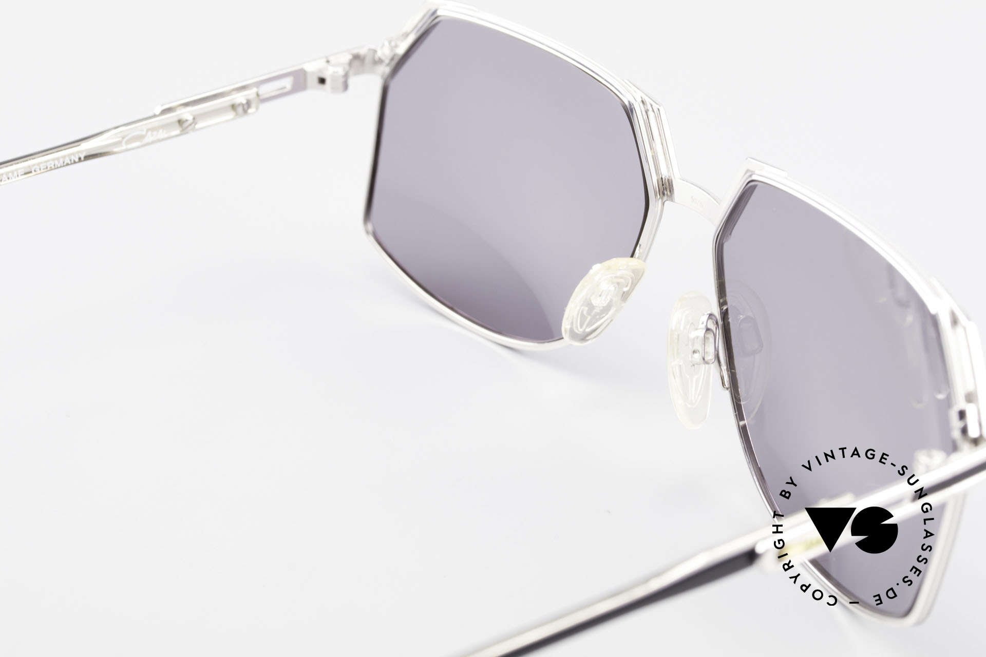 Cazal 738 True Vintage Sonnenbrille, Fassung ist natürlich auch für optische Gläser geeignet, Passend für Herren