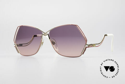 Cazal 226 Vintage Damen Sonnenbrille Details