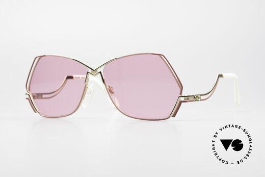 Cazal 226 Pinke Sonnenbrille Damen Details