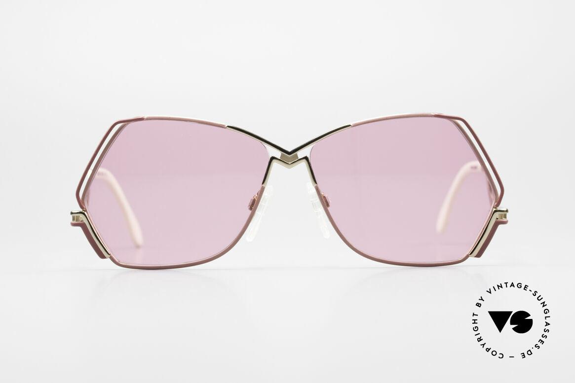 Cazal 226 Pinke Sonnenbrille Damen, zauberhafte Creation von CAri ZALloni (Mr. CAZAL), Passend für Damen