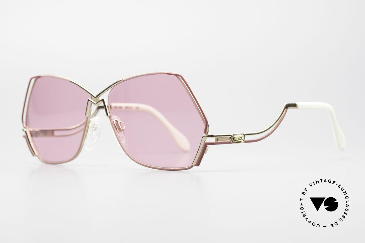 Cazal 226 Pinke Sonnenbrille Damen, edles, perfekt abgestimmtes Farbkonzept; Hingucker!, Passend für Damen