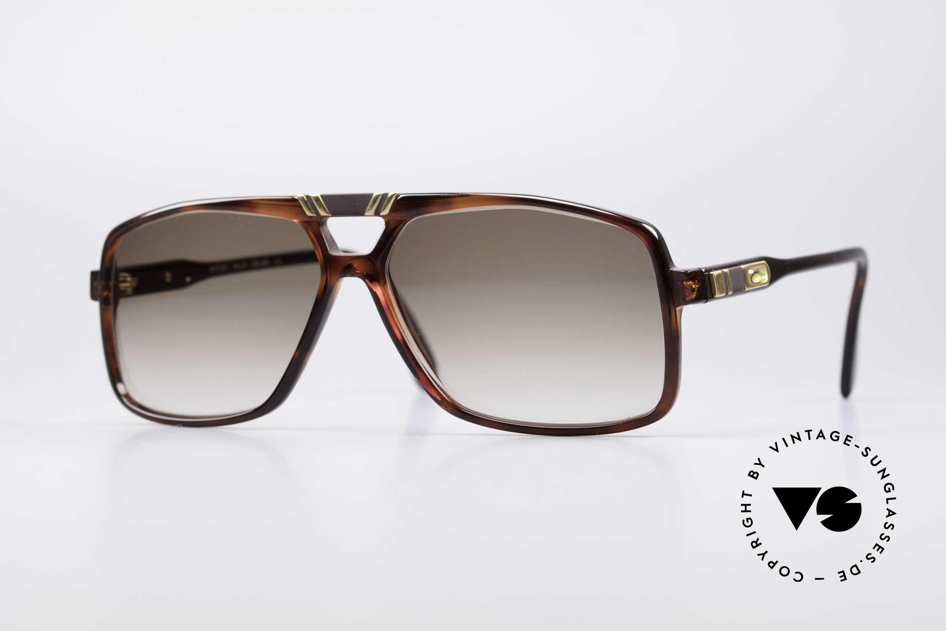 Cazal 637 1980er HipHop Sonnenbrille, ausdrucksstarke Cazal vintage Designerbrille, Passend für Herren