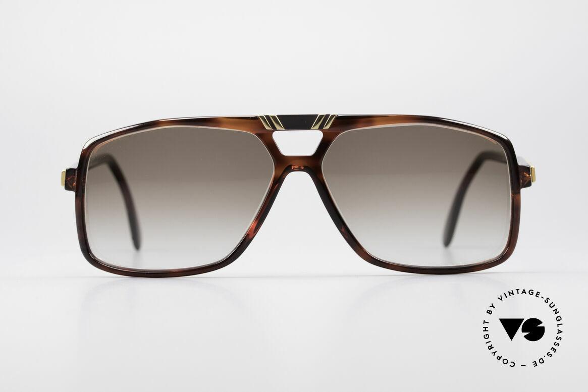 Cazal 637 1980er HipHop Sonnenbrille, seltenes Original von ca. 1987 (Sammlerstück), Passend für Herren