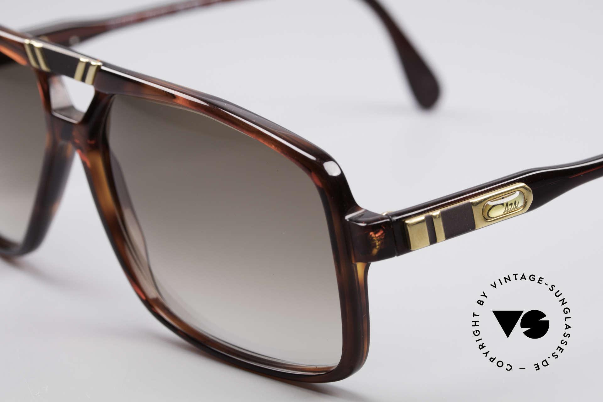 Cazal 637 1980er HipHop Sonnenbrille, Gr. 58/13, ungetragen (wie alle unsere Cazals), Passend für Herren