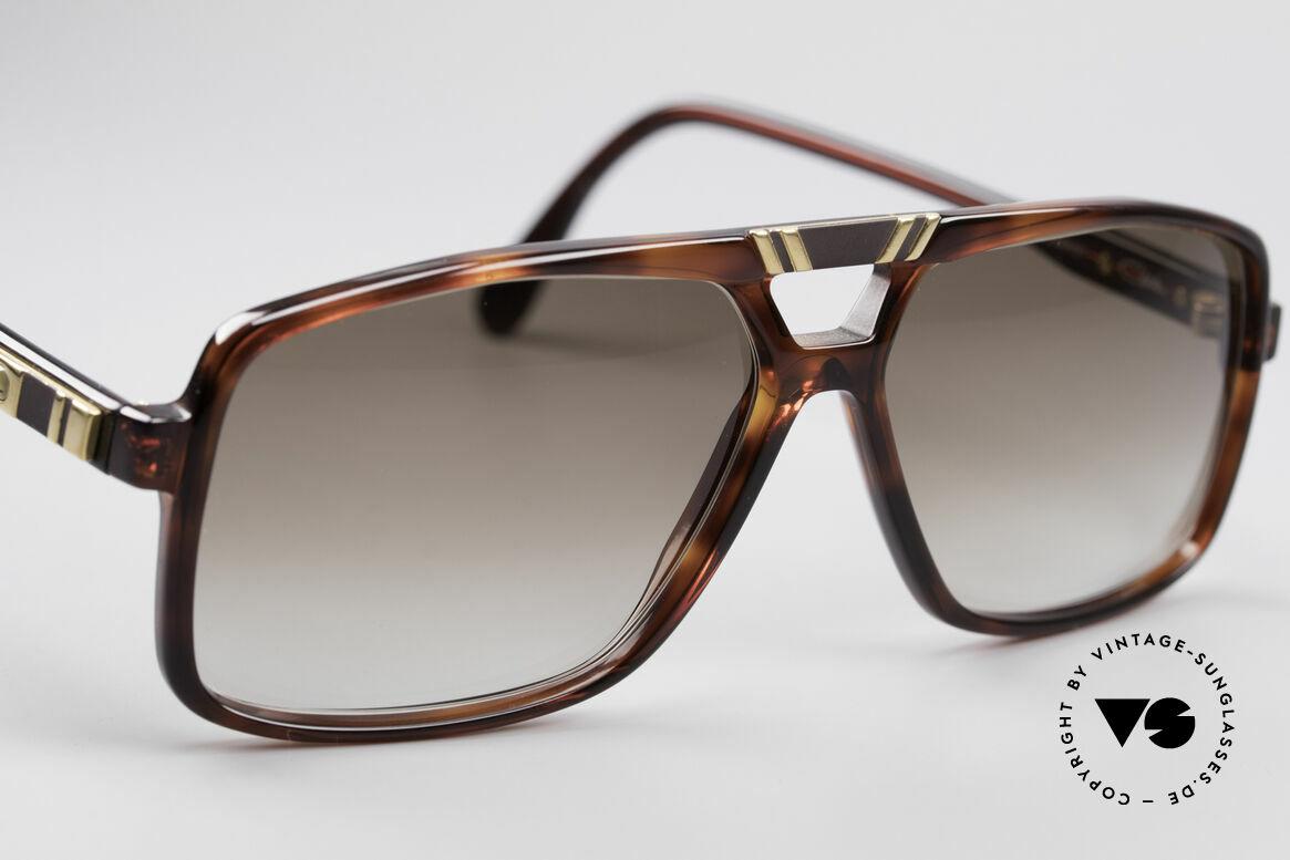 Cazal 637 1980er HipHop Sonnenbrille, KEINE Retrobrille; ein West Germany Original, Passend für Herren