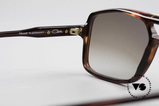 Cazal 637 1980er HipHop Sonnenbrille, Sonnengläser können beliebig ersetzt werden!, Passend für Herren