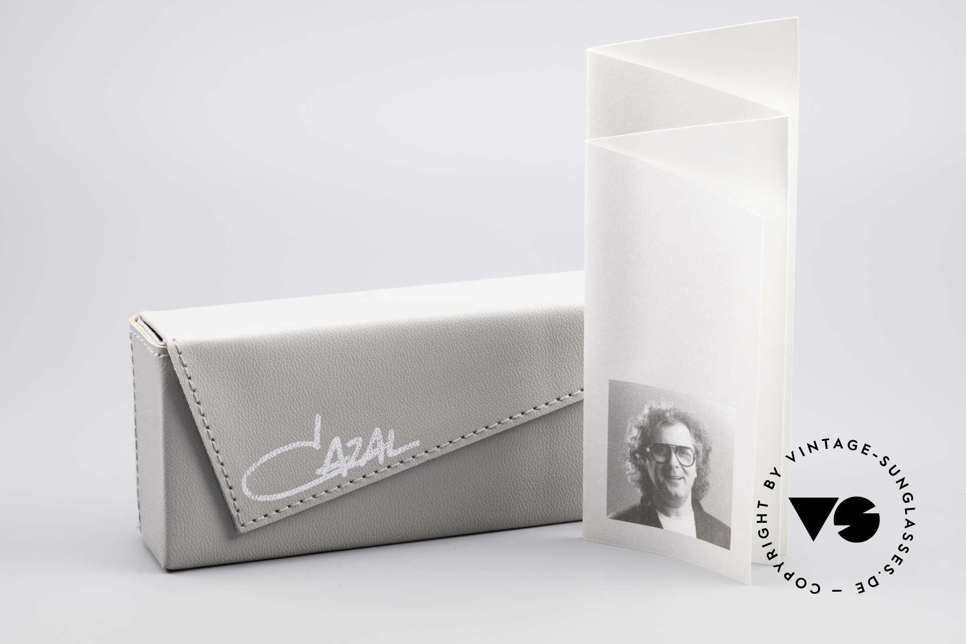 Cazal 637 1980er HipHop Sonnenbrille, Größe: medium, Passend für Herren