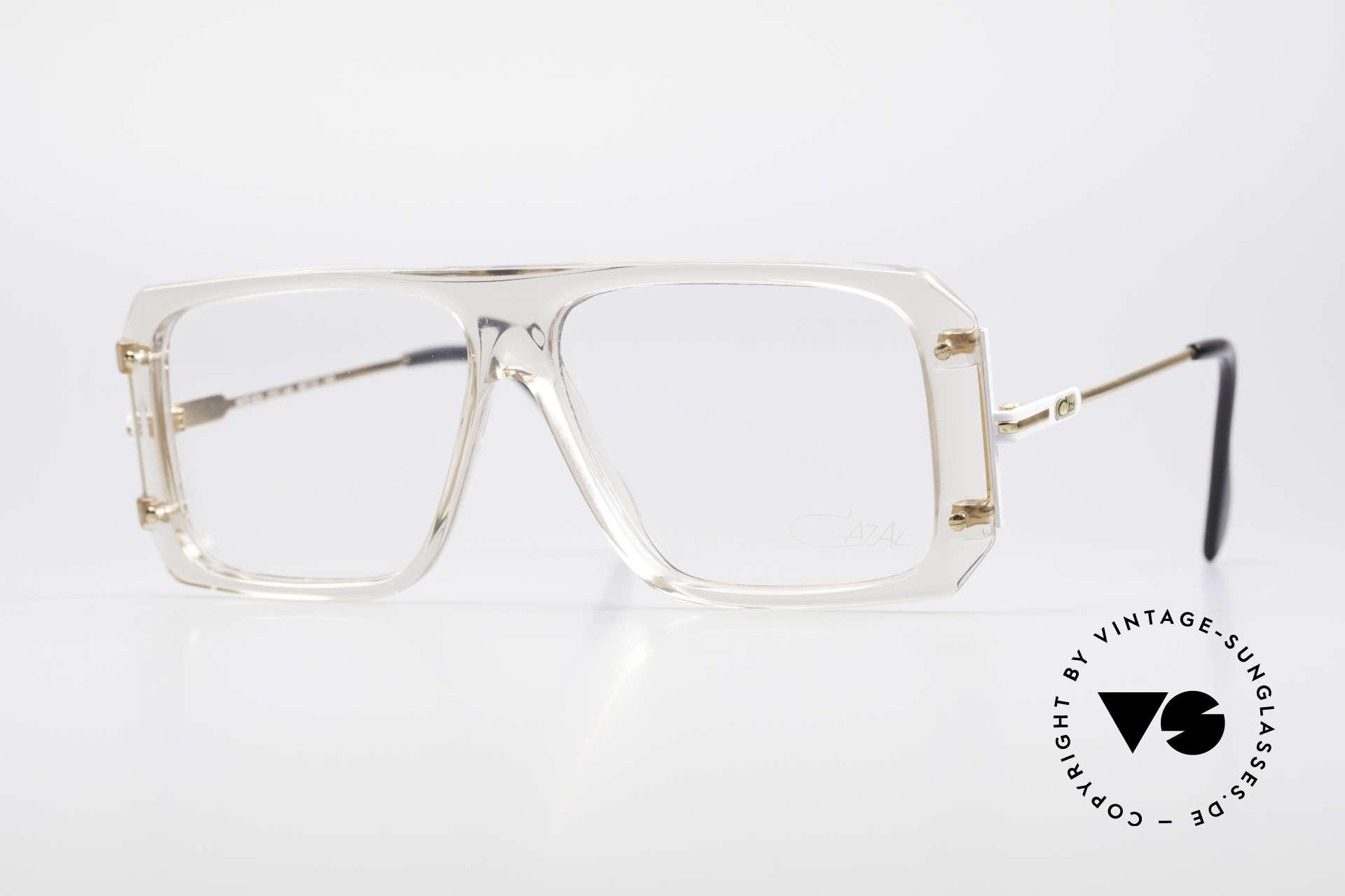 Cazal 633 Vintage Promi Brille 80er, vintage CAZAL Promi-Brille von 1988 in Gr. 58/12, Passend für Herren