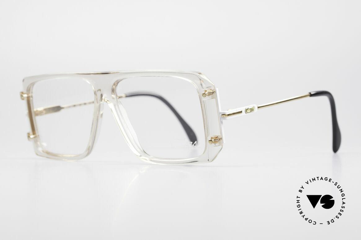 Cazal 633 Vintage Promi Brille 80er, Hip-Hop Style der 80er Jahre (legendär vintage!), Passend für Herren