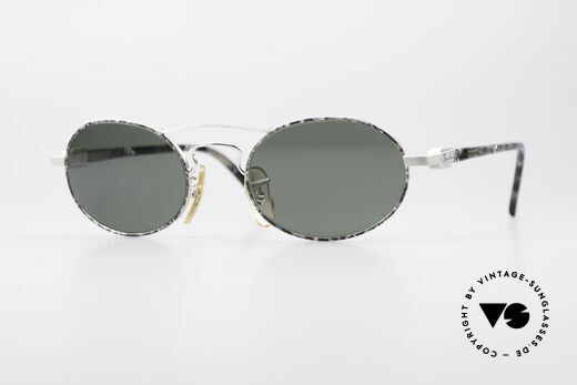 Ray Ban Chaos Oval 90er B&L USA Brille W2009 Details