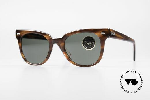 Ray Ban Meteor 80er Vintage USA Sonnenbrille Details